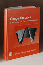"Book hard cover of ""Gauge Theories of the strong and electroweak interaction"""